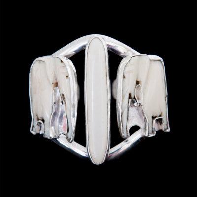 recycled ivory bracelet